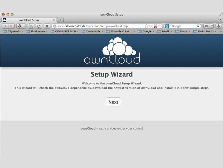 setup-owncloud-php